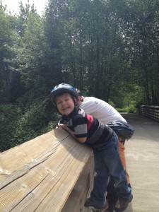 Lucas bike ride