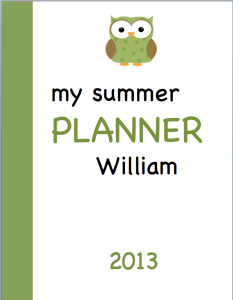 Planner Cover image